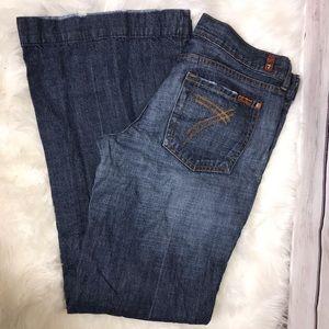 7 For All Mankind Sensei Dojo Jeans 32 x 34